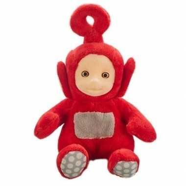 Baby rode teletubbies po speelgoed knuffel/pop geluid
