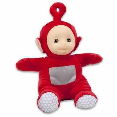 Baby rode teletubbies po speelgoed knuffel/pop