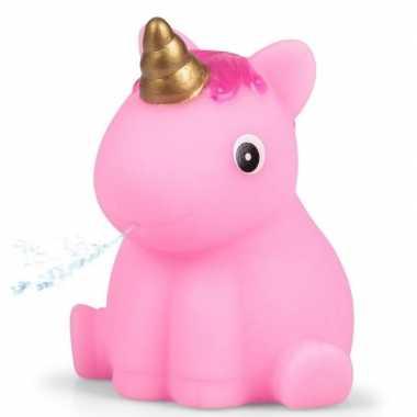 Baby roze eenhoorn badeend , speelgoed