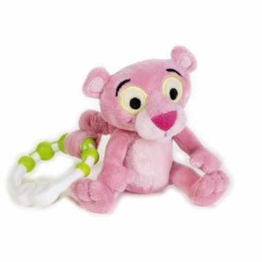 Baby  Roze Pink Panter rammelaar speelgoed