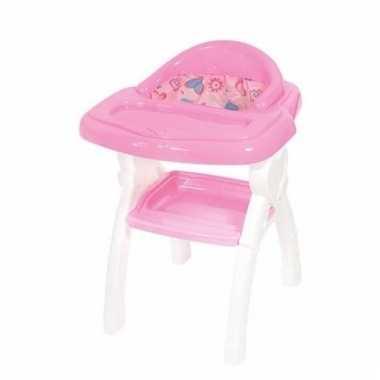 Baby roze poppenstoel accessoires speelgoed