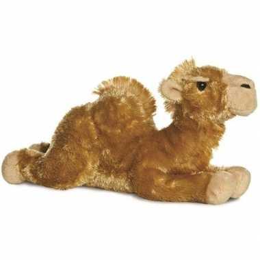 Baby safaridieren knuffels kameel bruin speelgoed