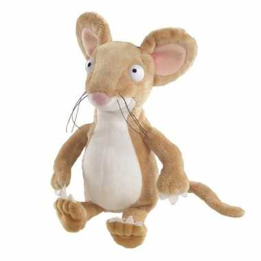 Baby safaridieren knuffels muis bruin speelgoed