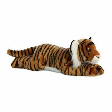 Baby safaridieren knuffels tijger bruin speelgoed