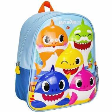 Baby shark school rugtas rugzak peuters kleuters kinderen speelgoed