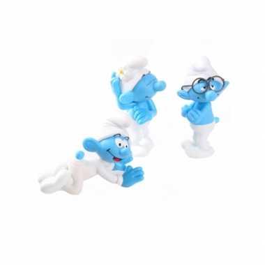 Baby speelgoed smurfjes stuks