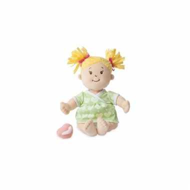Baby stella poppen groene kleding speelgoed