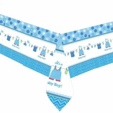 Baby  Tafelkleed geboorte jongen speelgoed