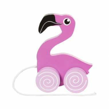 Baby  Trekdieren flamingo's speelgoed