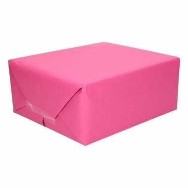 Baby uni kraftpapier fuchsia roze speelgoed