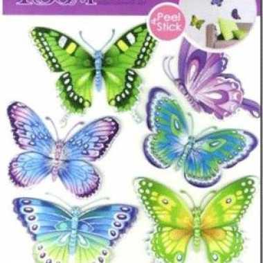 Baby  Vlinder versiering stickers speelgoed
