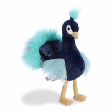 Baby vogel dieren knuffels pauw speelgoed 10142981