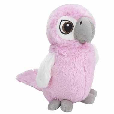 Baby vogel knuffels kaketoe roze speelgoed