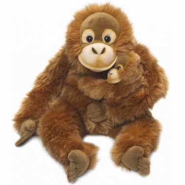 Baby wereld natuur fonds orang utan speelgoed