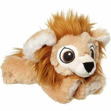 Baby wilde dieren knuffels leeuw bruin speelgoed