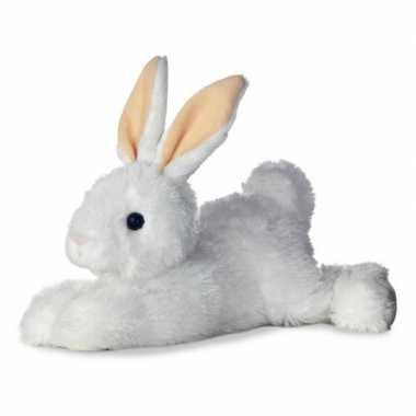 Baby witte bosdieren knuffels konijn speelgoed