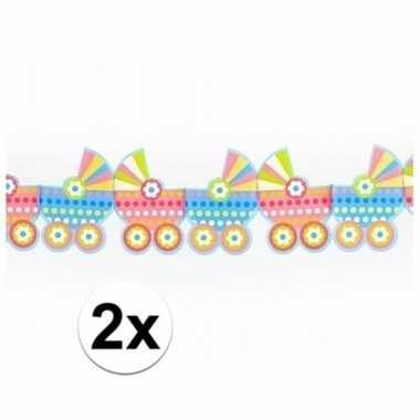 Baby x geboorte slingers kinderwagens meter speelgoed
