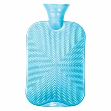 Baby zachtblauwe warm water kruik speelgoed