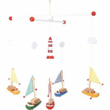 Baby zeilboten hangdecoratie kinderkamer speelgoed
