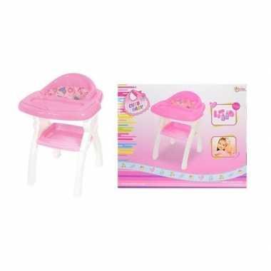 Babypop kinderstoeltje poppen accessoires speelgoed