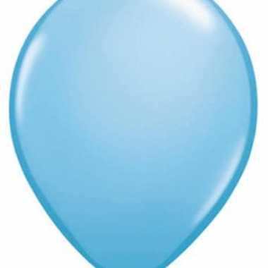 Ballonnen Qualatex baby blauw speelgoed