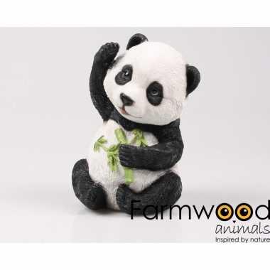 Decoratiebeeld baby panda speelgoed