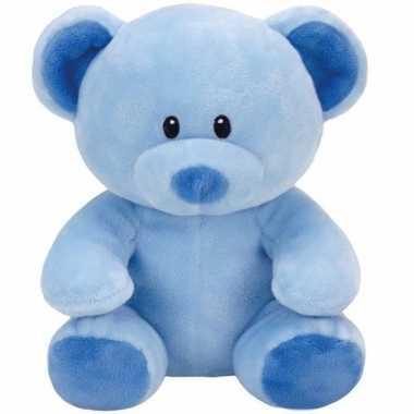 Geboorte jongetje knuffel ty baby beer lullaby speelgoed