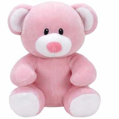 Geboorte meisje knuffel ty baby beer princess speelgoed