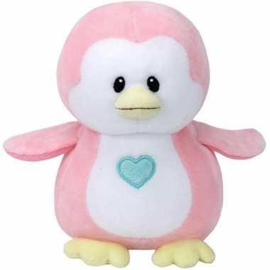Geboorte meisje knuffel ty baby pinguin penny speelgoed