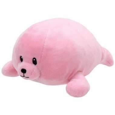 Geboorte meisje knuffel ty baby zeehond doodles speelgoed