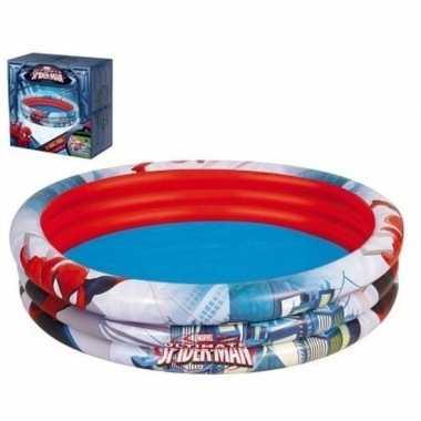 Marvel spiderman rond opblaasbaar zwembad baby/kinderen speelgoed