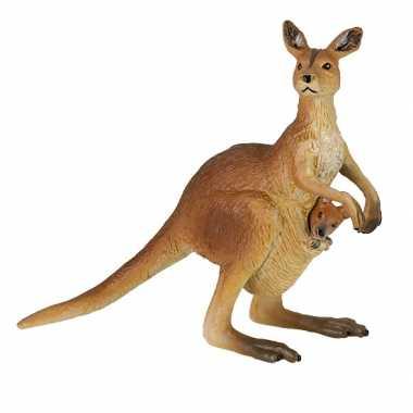 Plastic kangoeroe baby speelgoed