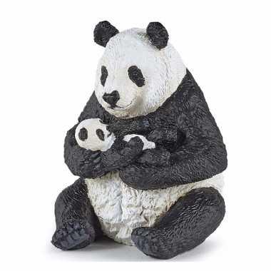 Plastic panda baby panda speelgoed