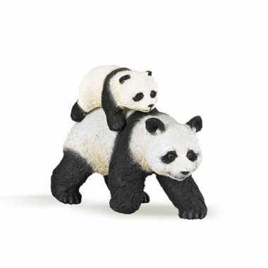 Plastic panda baby speelgoed