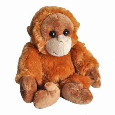 Pluche baby orang oetan aap knuffel speelgoed