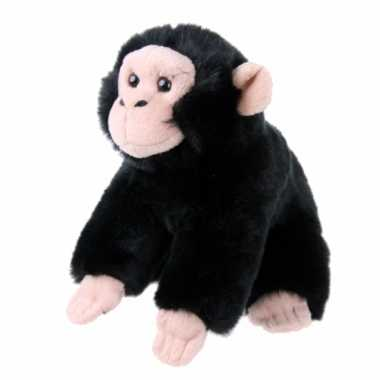 Pluche knuffel baby chimpansee speelgoed