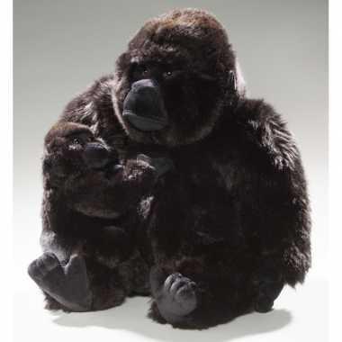 Pluche knuffel gorilla baby speelgoed