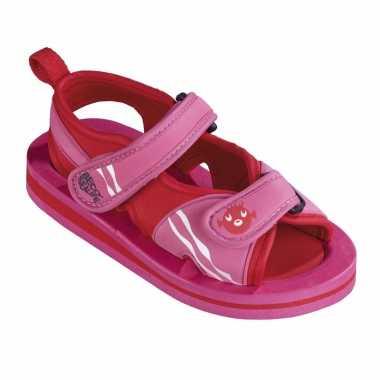 Roze watersandalen waterschoenen baby peuter speelgoed