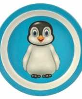 Baby broodbordje pinguin speelgoed