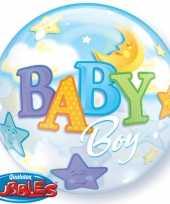 Baby helium ballon geboorte jongen speelgoed