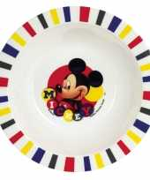 Baby mickey mouse ontbijtset bord speelgoed