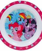 Baby my little pony ontbijtset bord speelgoed