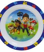 Baby paw patrol ontbijtset bord speelgoed