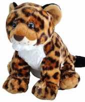 Baby wilde dieren knuffels jaguar luipaard welp gevlekt speelgoed