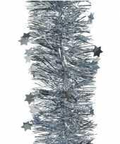 Baby x lichtblauwe glitter kerstslingers breed speelgoed