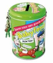 Collectebussen babyfonds speelgoed